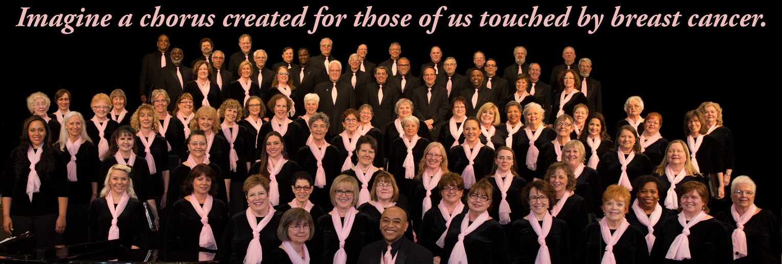 Chorus Photo 2015 pink words